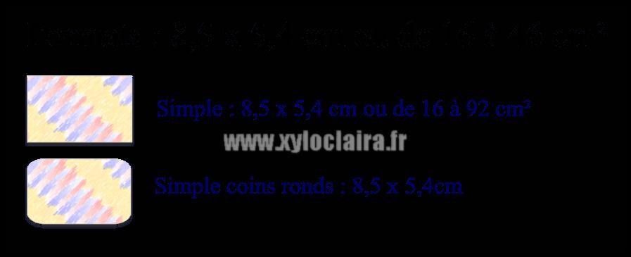 Choix Carte De Visite Synthtique Formats